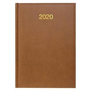 Ежедневник датированный BRUNNEN 2020 СТАНДАРТ MIRADUR, коричневый