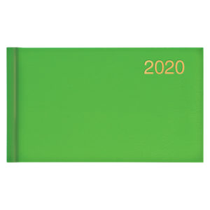Еженедельник карманный датированный BRUNNEN 2020 Miradur ярко-зеленый
