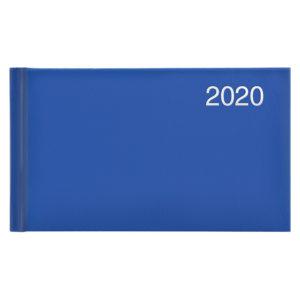 Еженедельник карманный датированный BRUNNEN 2020 Miradur ярко-синий