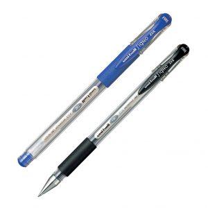 Ручка гелевая SIGNO DX, 0,7мм (черный, синий)