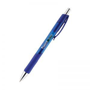 Ручка гелевая автоматическая SAFE с резиновым грипом