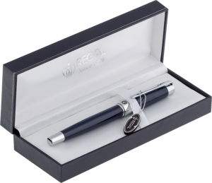 Ручка перьевая R98202.L.F в подарочном футляре, синий корпус