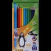 Карандаши цветные 12 цветов KIDS LINE, круглый корпус