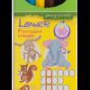 Карандаши цветные 6 цветов LOWER, шестигранный корпус