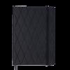 Ежедневник датированный 2020 CASTELLO, А5, черный, на резиночке