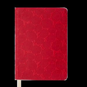 Ежедневник датированный 2020 FLEUR, А5, красный