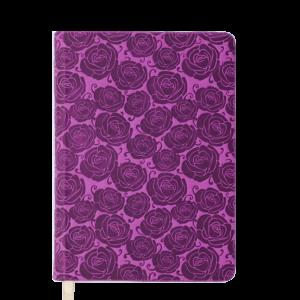 Ежедневник датированный 2020 FLEUR, А5, розовый