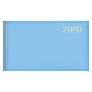 Еженедельник карманный датированный BRUNNEN 2020 Miradur Trend голубой