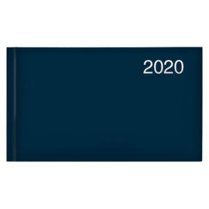 Еженедельник карманный датированный BRUNNEN 2020 Miradur Trend синий