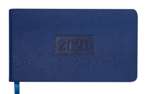 Еженедельник 2020 карманный датированный AMAZONIA синий
