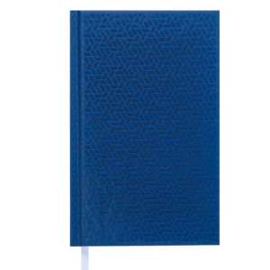 Ежедневник А6 недатированный TONE синий