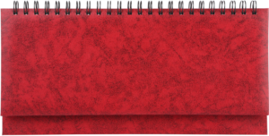 Планинг недатированный BASE красный