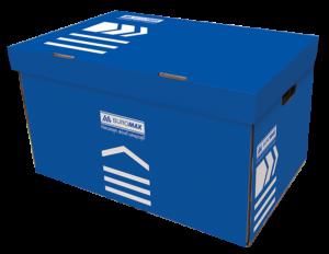 Короб для архивных боксов, цветной (синий, бирюзовый, фиолетовый)