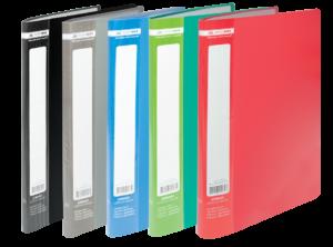 Папка пластиковая А4 с 10 файлами JOBMAX