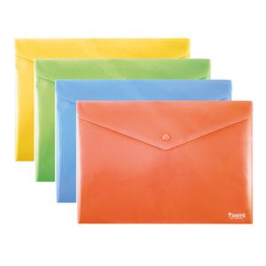 Папка-конверт на кнопке формат В5+ арт.1413-20-A, непрозрачная