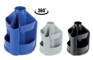 Подставка вращающаяся пластиковая, 10 отделений, без наполнения