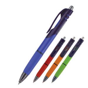Ручка шариковая автоматическая Delta DB2026-02, синяя, 0.7 мм