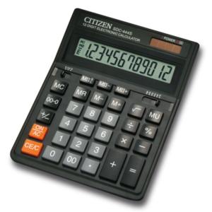 Калькулятор Citizen SDC-444S, 12 разрядов,