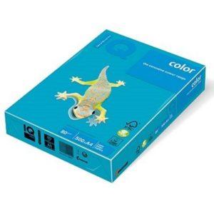 Бумага цветная INTENSIVE AB48, А4, 80г/м2, 500 листов, синий