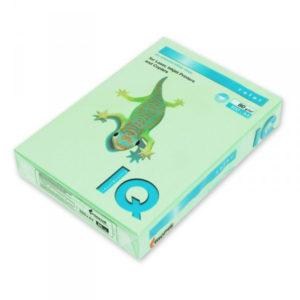 Бумага цветная PASTELL MG28, Green, А4, 80г/м2, 500 листов, зеленый