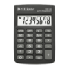 Калькулятор BRILLIANT BS-100, 8 разрядов, одна батарея