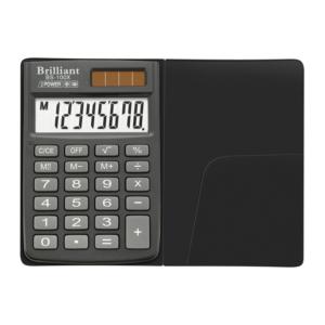 Калькулятор BRILLIANT BS-100X, 8 разрядов, две батареи