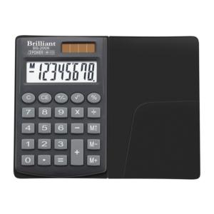 Калькулятор BRILLIANT BS-200X, 8 разрядов, две батареи