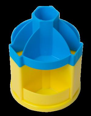 Подставка-вертушка для канцтоваров UKRAINE, 10 отделений
