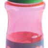Бутылка для воды 500мл, из пищевого пластика, коралловая