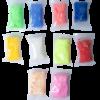 Легкий пластилин 10шт, 10 цветов + 3 формочки, 3 стека, в прозрачном ведерке 28673