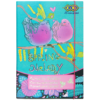 Папка для труда Art Effect SPRING MELODY, А4+ картонная, на резинке Kids Line