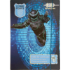 Папка для тетрадей Art Effect CYBER POLICE, B5+ картонная,  на резинке Kids Line