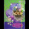 Папка для тетрадей Art Effect LOVE YOU, B5+ картонная,  на резинке Kids Line
