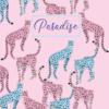Ежедневник А5 недатированный PARADISE светло-розовый