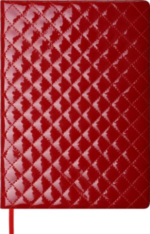 Ежедневник 2020 А4 DONNA датированный красный, кремовый блок