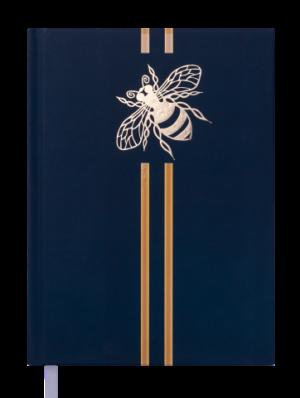 Ежедневник датированный 2020 GOLDEN BEE, А5, зеленый, твердая обложка