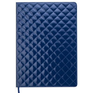Ежедневник 2020 А4 DONNA датированный синий, кремовый блок