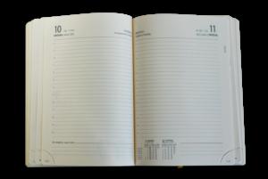 Блок А5 датированный ежедневник, кремовый