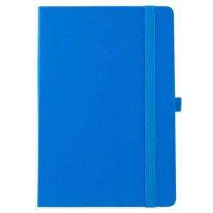 Еженедельник полудатированный А5-, Axent Partner Strong, твердая обложка, кремовый блок, голубой