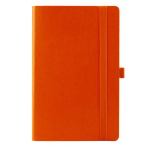 Еженедельник датированный А5-, 2020 Axent Partner Flex, гибкая обложка, кремовый блок, оранжевый
