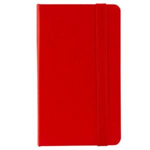 Еженедельник датированный А6-, 2020 Axent Pocket Strong, твердая обложка, кремовый блок, красный