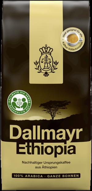 Кофе в зернах DALLMAYR Ethiopia, 500г, 100% арабика