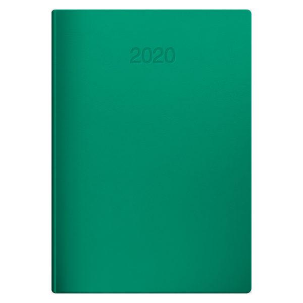 Ежедневник датированный BRUNNEN 2020 СТАНДАРТ FLEX, зеленый, гибкий