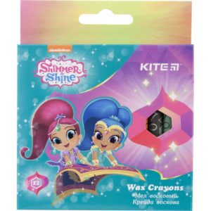 Мелки восковые 12 цветов Shimmer & Shine, диаметр 8мм SH18-070