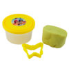 Тесто для лепки 3 шт Х 75г, 3 цвета, с формочками Shimmer & Shine, SH19-151 картонная упаковка 35421
