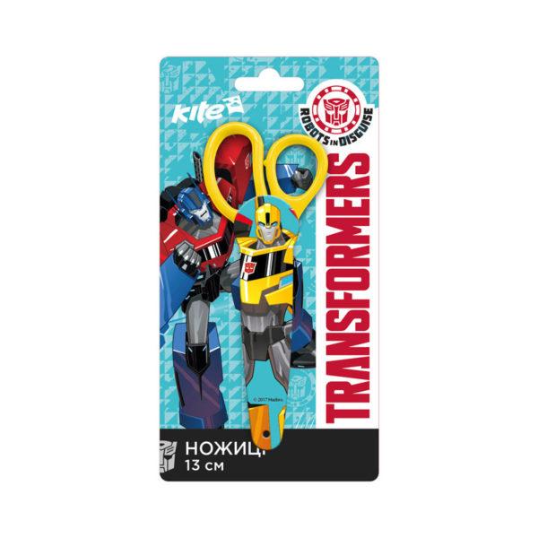 Ножницы детские Transformers в пластиковом чехле 13см, TF17-125