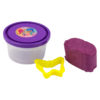 Тесто для лепки 5 шт Х 75г, 5 цветов, с формочками Shimmer & Shine SH19-152 картонная упаковка 35433