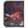 Папка для тетрадей пластиковая Hot Wheels В5, на молнии, HW19-203 35943
