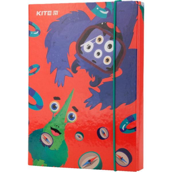 Папка для тетрадей картонная В5, Jolliers на резинке K19-210