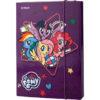 Папка для тетрадей картонная В5, My Little Pony на резинке LP19-210